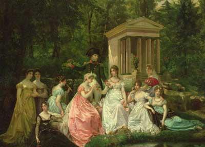 Painted by Jean-Louis Victor Viger du Vigneau
