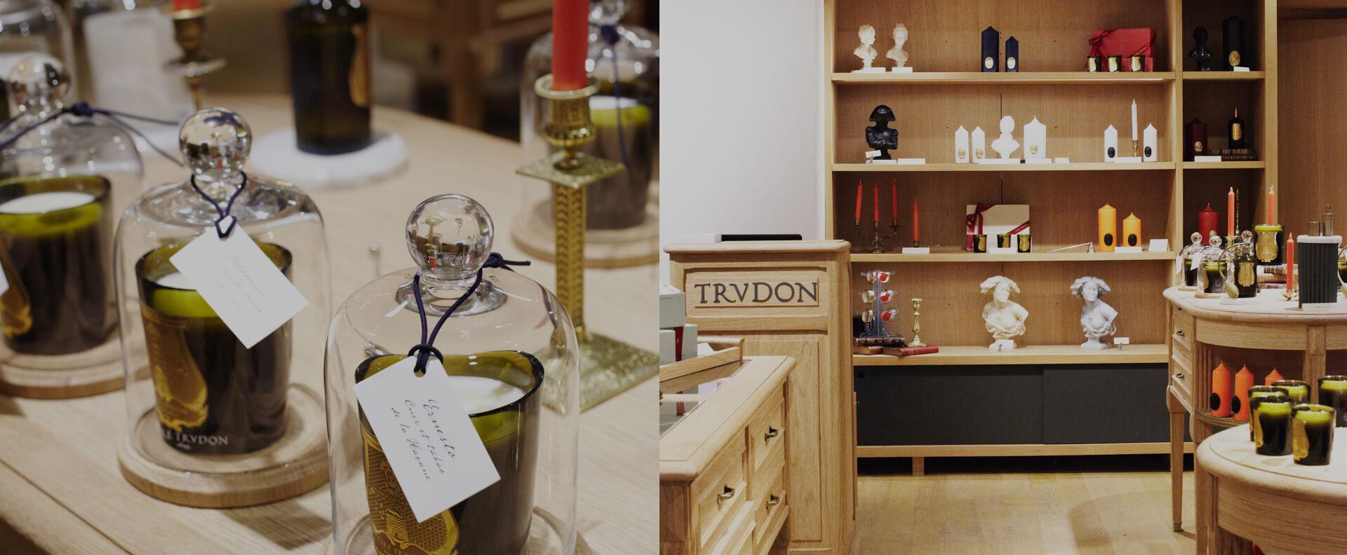 nos boutiques trudon. Black Bedroom Furniture Sets. Home Design Ideas